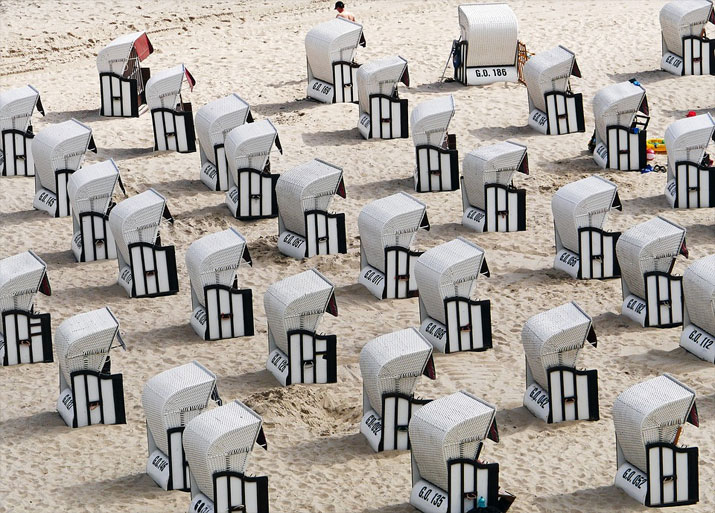Strandkorb, Ostseebad Sellin